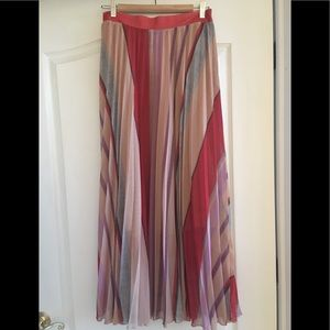 Colorful Pleated H&M Skirt, NWT